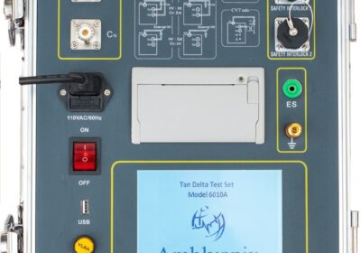 Model 6010A is a breakthrough Capacitance and Tan/Delta Insulation Resistance Testing