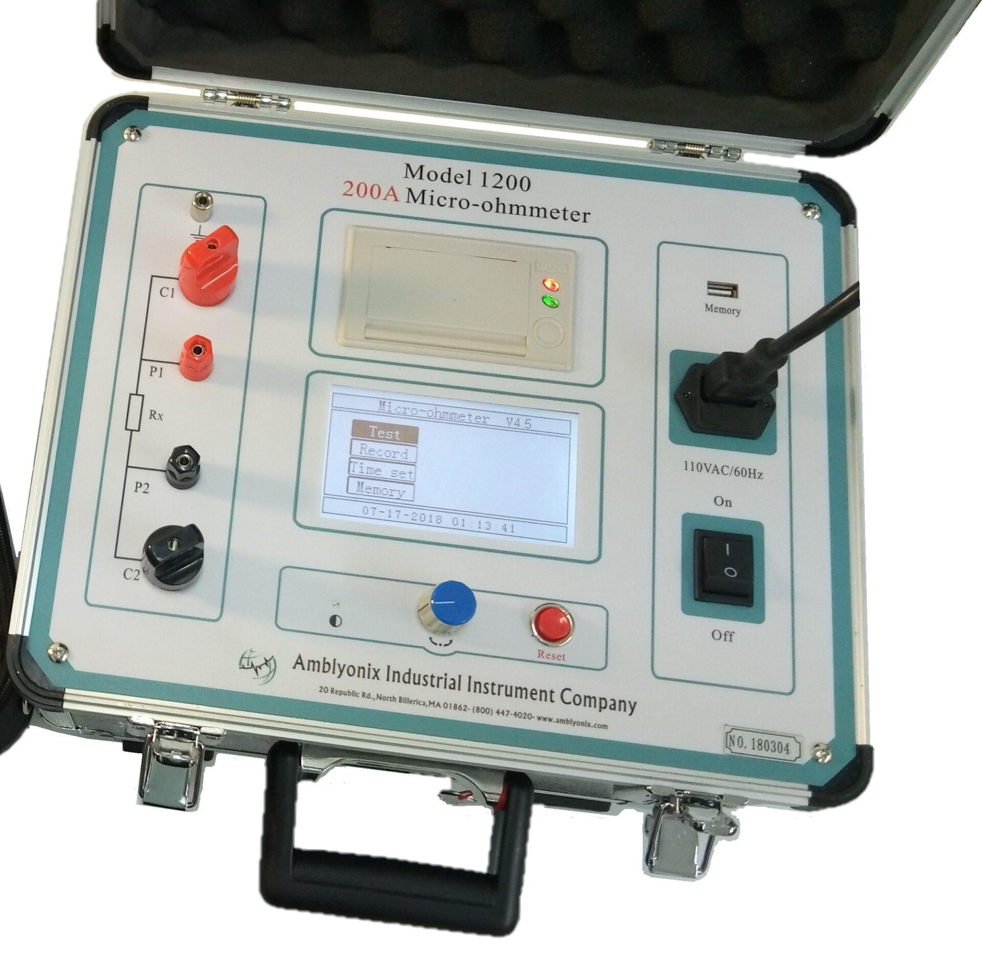 Micro-ohmmeters